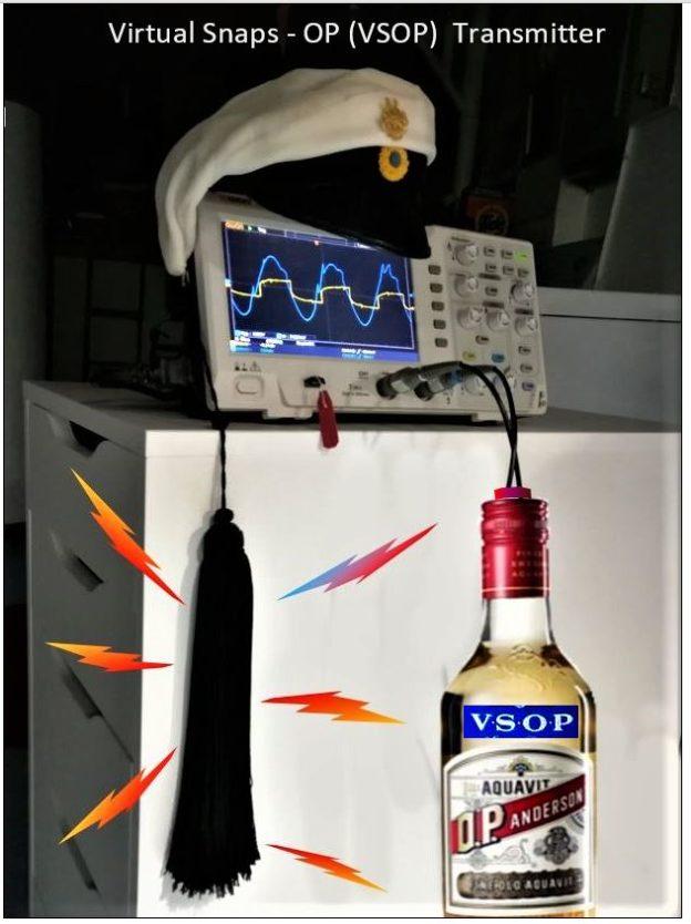 Virtual snaps transmitter